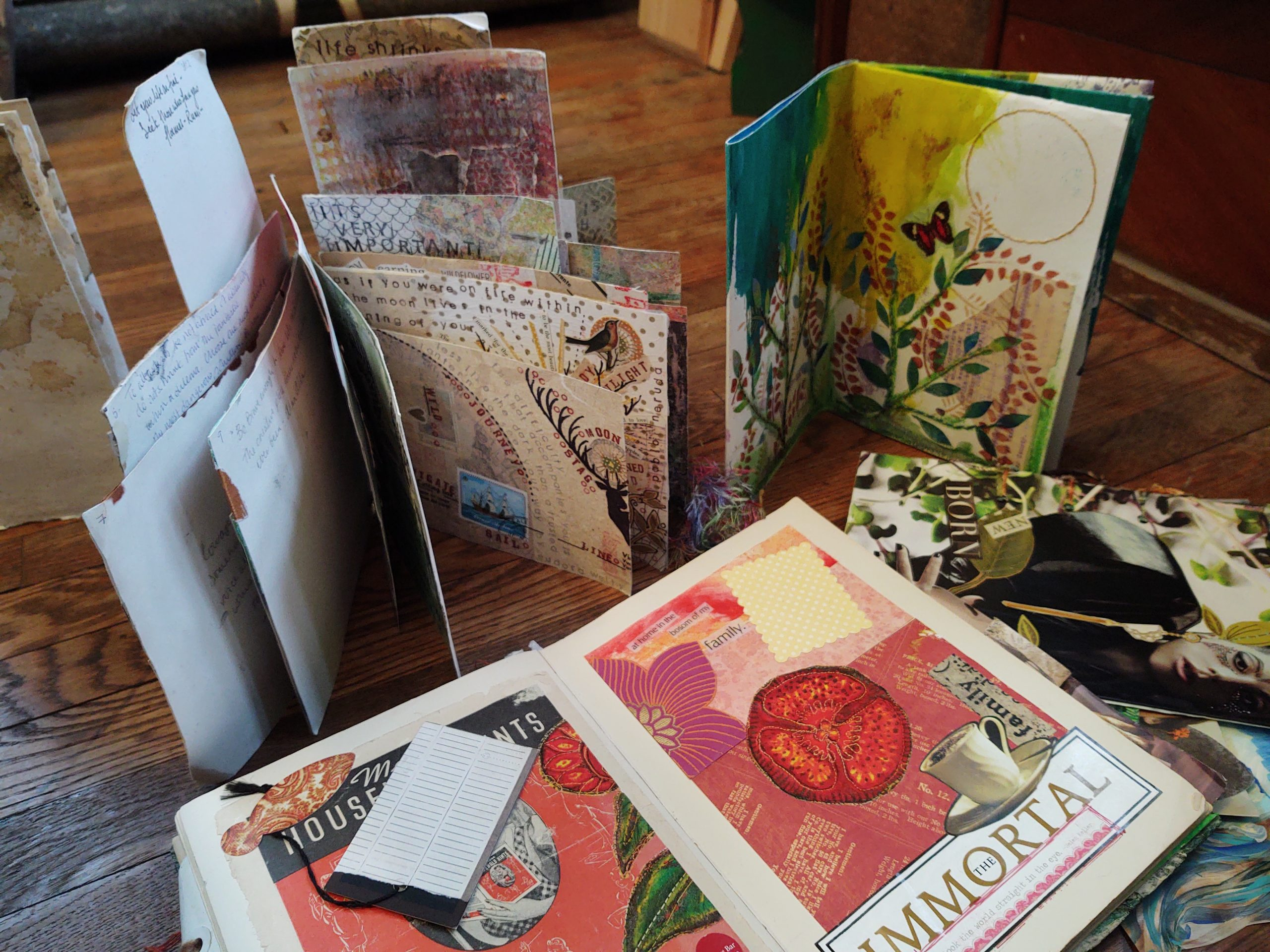 Make an Art Journal Workshop