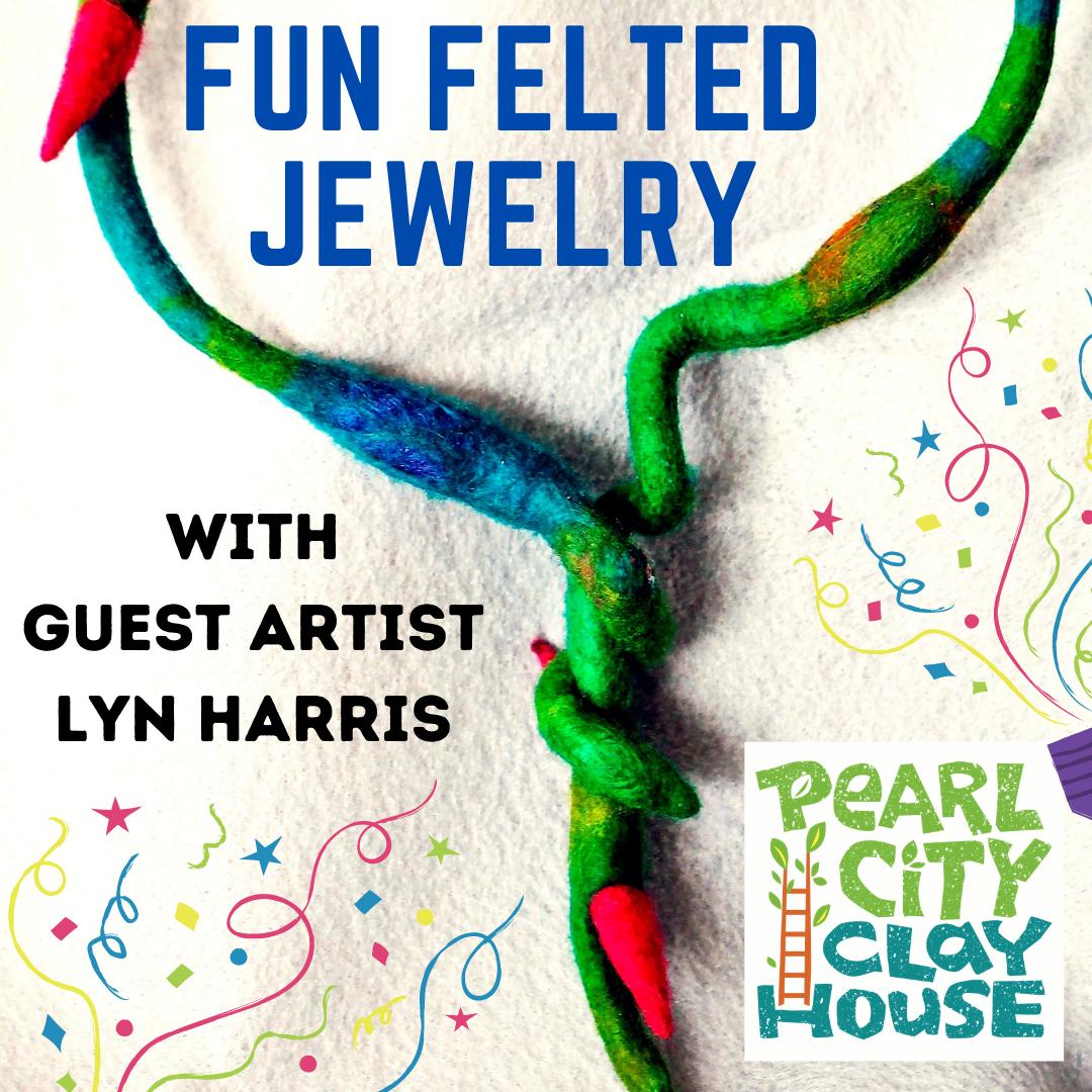 fun felted jewelry