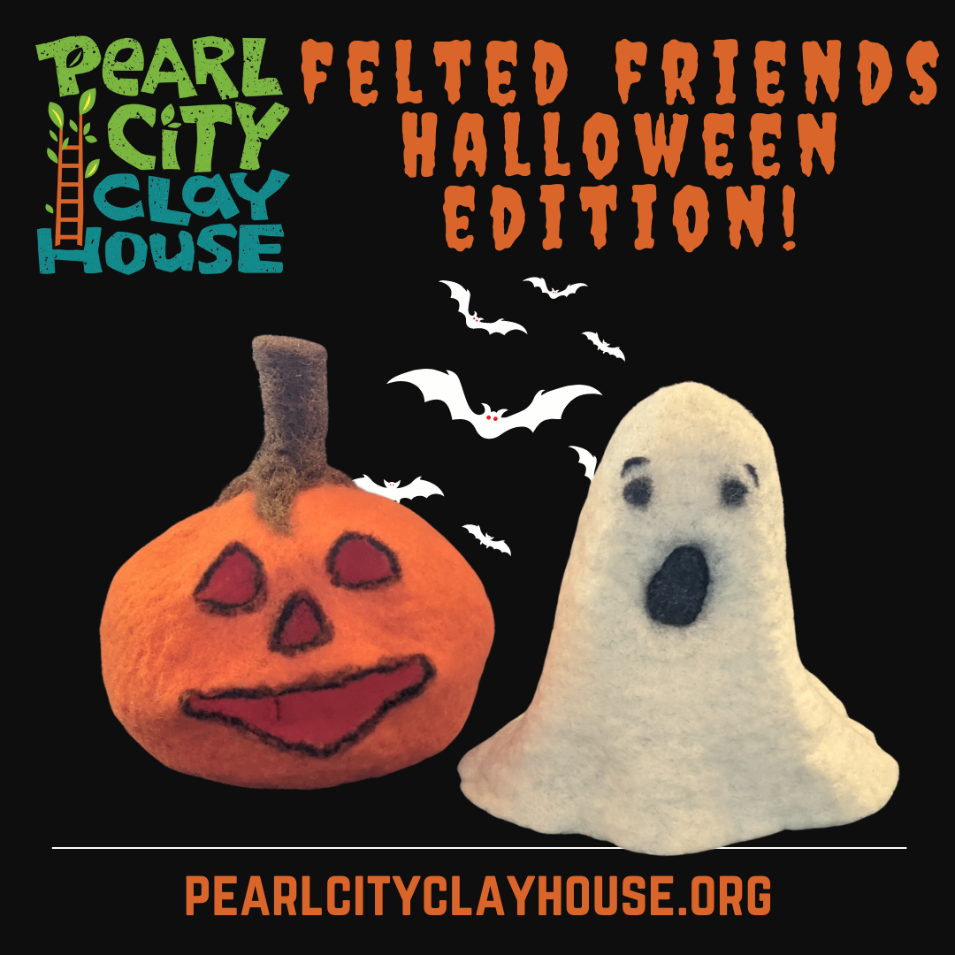 Felted Friend Fridays – spooky edition!